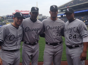 Adrián Nieto, Alexei Ramírez, José Abreu y Dayán Viciedo se convirtieron en la primera cuarteta de cubanos en alinear en un encuentro de Grandes Ligas desde 1969